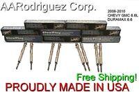 2006-2010 Chevy Gmc 6.6l Glow Plug Set Duramax 6.6 Glow Plugs Drx00057