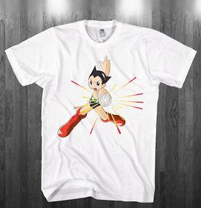 44c4a7241 Astroboy T-shirt Astro boy super hero robot cartoon Shirts Adult ...
