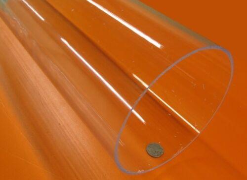 """Acrylic Tube Clear Extruded  6.00/"""" OD x 5.75/"""" ID x .125/"""" Wall x 72/"""" Length"""