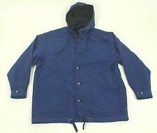 GOTCHA Ski Winter Parka Jacket Small Navy Blue S Lined Nylon Snowboard Coat Hood