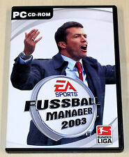 FIFA FUSSBALL MANAGER 2003 - PC SPIEL - EA SPORTS
