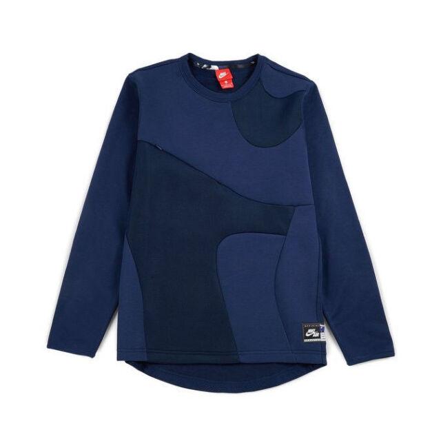 Nike ~ Hypermesh Basketball Men's Crewneck Pullover Sweatshirt $90 NWT