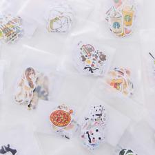 6x//Set random Cartoon Cat Tattoo Sticker Scrapbooking Diary Sticker Decor JB JB