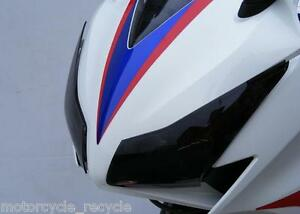 NEW-POWERBRONZE-HEADLIGHT-PROTECTORS-LIGHT-TINT-HONDA-CBR-1000-RR-FIREBLADE-2012