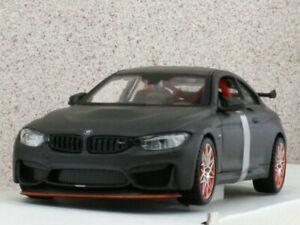 BMW M4 GTS - black dull - Maisto 1:24