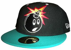 d6f87dcf352 The Hundreds 59FIFTY New Era Fitted Cap Forever Adam Bomb Men s Hat ...