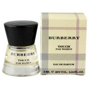Touch For Women By Burberry Eau De Parfum Mini Splash 016 Oz New