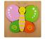 miniature 19 - Mignon Coloré en Bois Puzzle Baby Kids Toddler Jigsaw Animal À faire soi-même Learning Toy UK