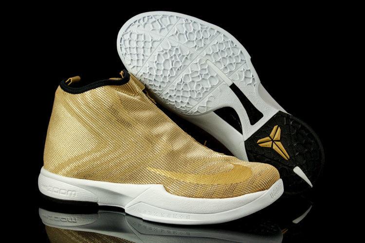 Nike zoom kobe icona jcrd oro metallico bianco guanto nero gp ad 819858 700 sz