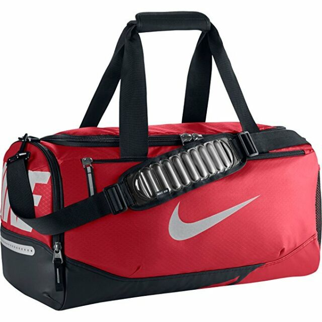 Buy Nike Vapor Max Air Small Duffel Bag Ba4985 657 Red black online ... e1469277b