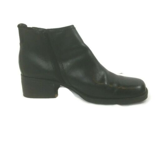 DOCKERS LEATHER ANKLE BOOTS DELAWARE WOMEN S 60190