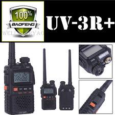Baofeng UV-3R+ Plus Handheld Walkie Talkie VHF/UHF Dual Band Ham Two Way Radio