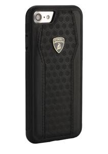new product 7575e d759e Details about Lamborghini Huracan-D8 Genuine Leather - Back Case iPhone 7  PLUS, 8 PLUS Black