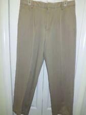Dockers Relaxed Fit Men's Signature Khaki Pant - Pleated Sz W33-L30 Men's Khakis