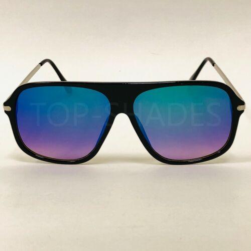 Fashion Flat Lens Aviator Lenses Square Shades Designer  Men Women Sunglasses