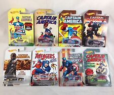 Hot Wheels Captain America Set 1 2 3 4 5 6 7 8  Walmart Exclusive 2016 Comic Art