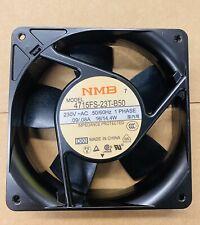 NMB-MAT NMB 4715FS-23T-B50 Fan 230V~AC .09//.08A PHASE 1 Minebea 50-60Hz