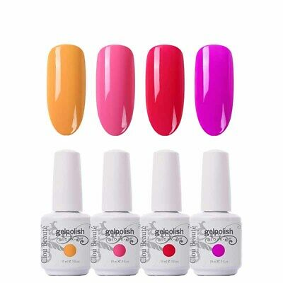 Clou Beaute Hybrid Nail Permanent 15ml Gel Led Semi Lacquer Varnish Polish Uv Ebay