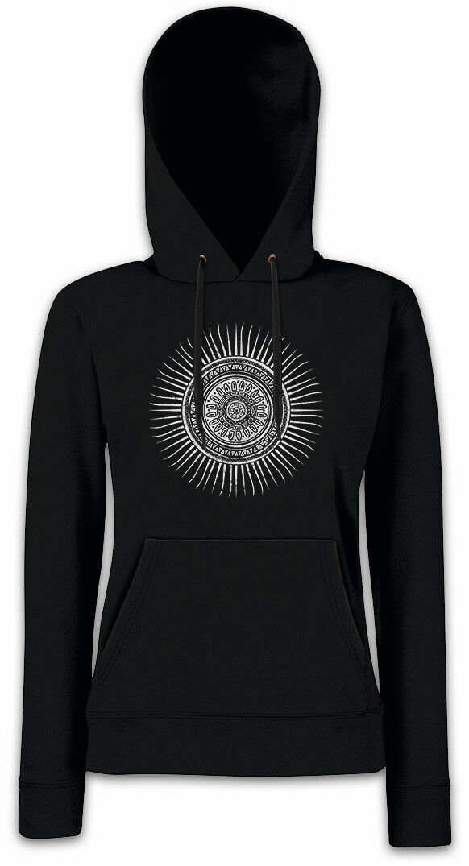 MAYAN SUN Damen Hoodie Kapuzenpullover Sign Sign Sign Symbol Aztec Mayans Maya Sonne | Reichhaltiges Design  fc5b9c