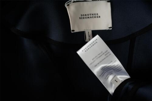 Collar Crop Nuovo Blue Cropped Womens Schumacher Satin Zip Dorothee 1 Slate Jacket W8CSP6Rw0