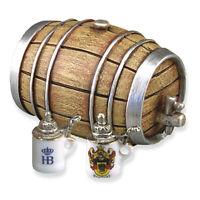 Reutter Porzellan Bier Bierfass Set Beer Barrel Set Puppenstube 1:12 Art 1.802/8