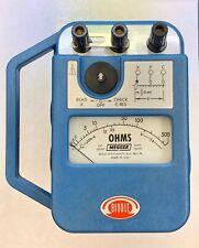 Vintage Biddle Megger Earth Tester Null Balance 2035993 Instructions Case For Sale Online Ebay