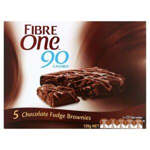 Fibre One Chocolate Fudge Brownies 5 pack 120g