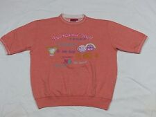 * Best company t shirt * VINTAGE * International Volley * Rosa * Salmone ZX * Gr: M * COME NUOVO