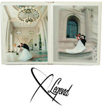 Professional 8x8 Wedding/Parent Album peel and stick ivory 24 photos
