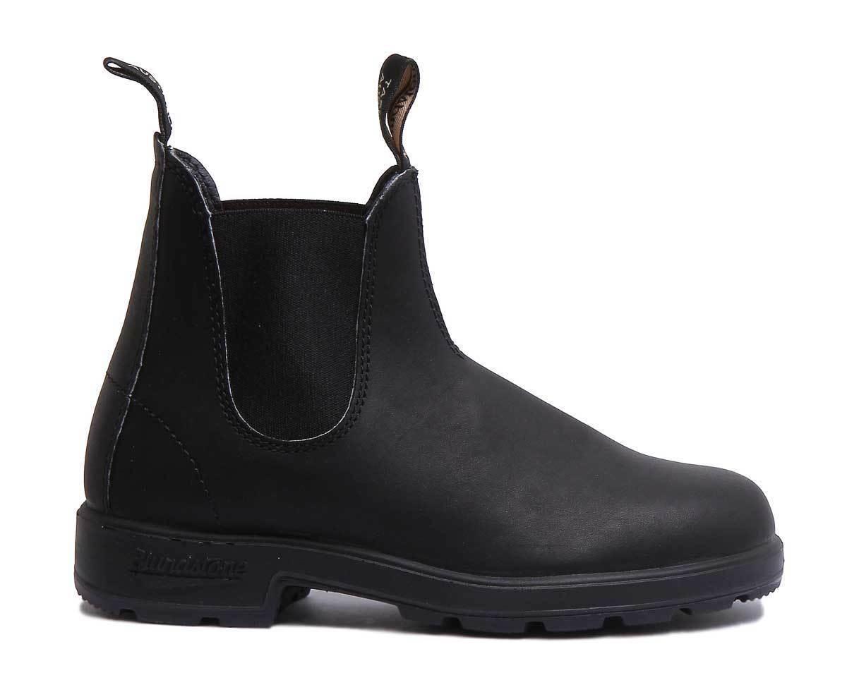 Blundstone 510 The Original Women Leather Matt Black Ankle Boots Size UK 3 - 8