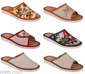 Comfort-Women-Cork-Summer-Lightweight-Slippers-Size-3-4-5-6-7-8