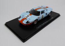 Ford GT40 Gulf #9 Winner Le Mans 1968 - 1:43 Spark Hachette Model Car 04