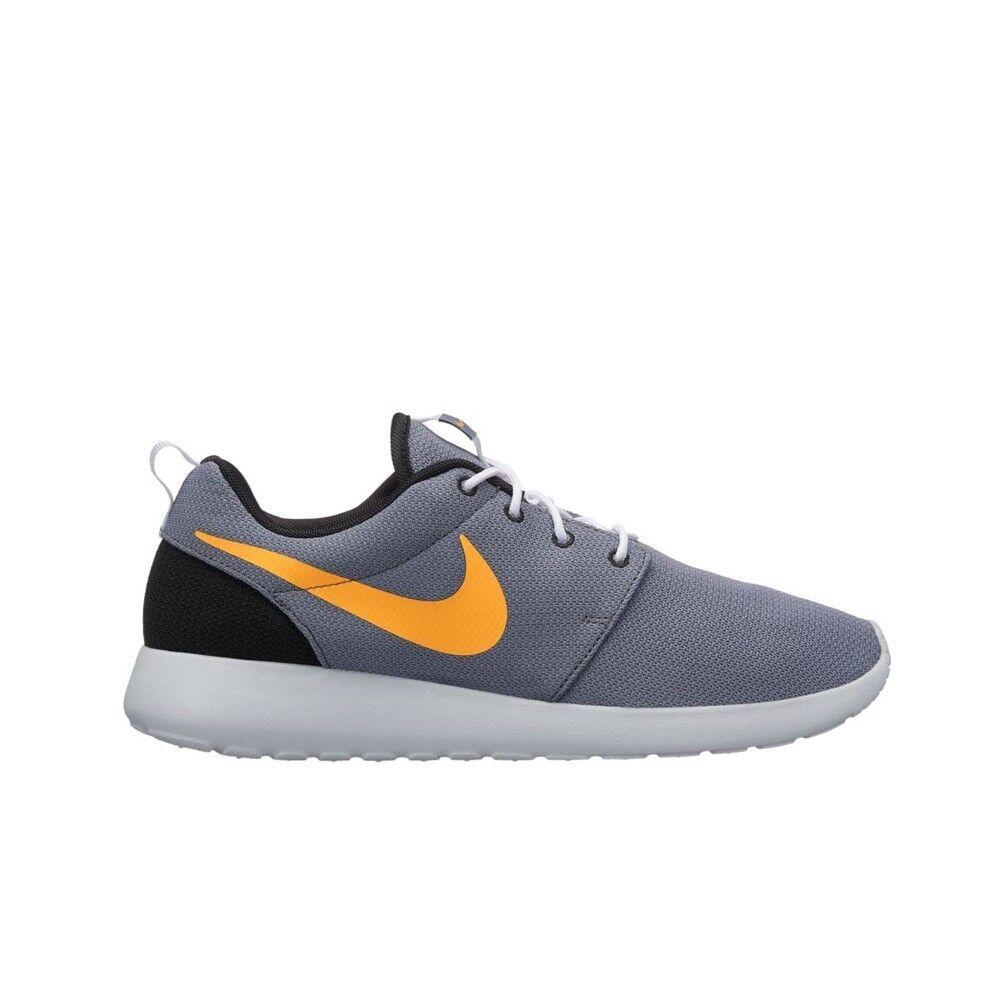 Nike Roshe One (Cool Grey Laser orange-Pure Platinum) Men's shoes 511881-038
