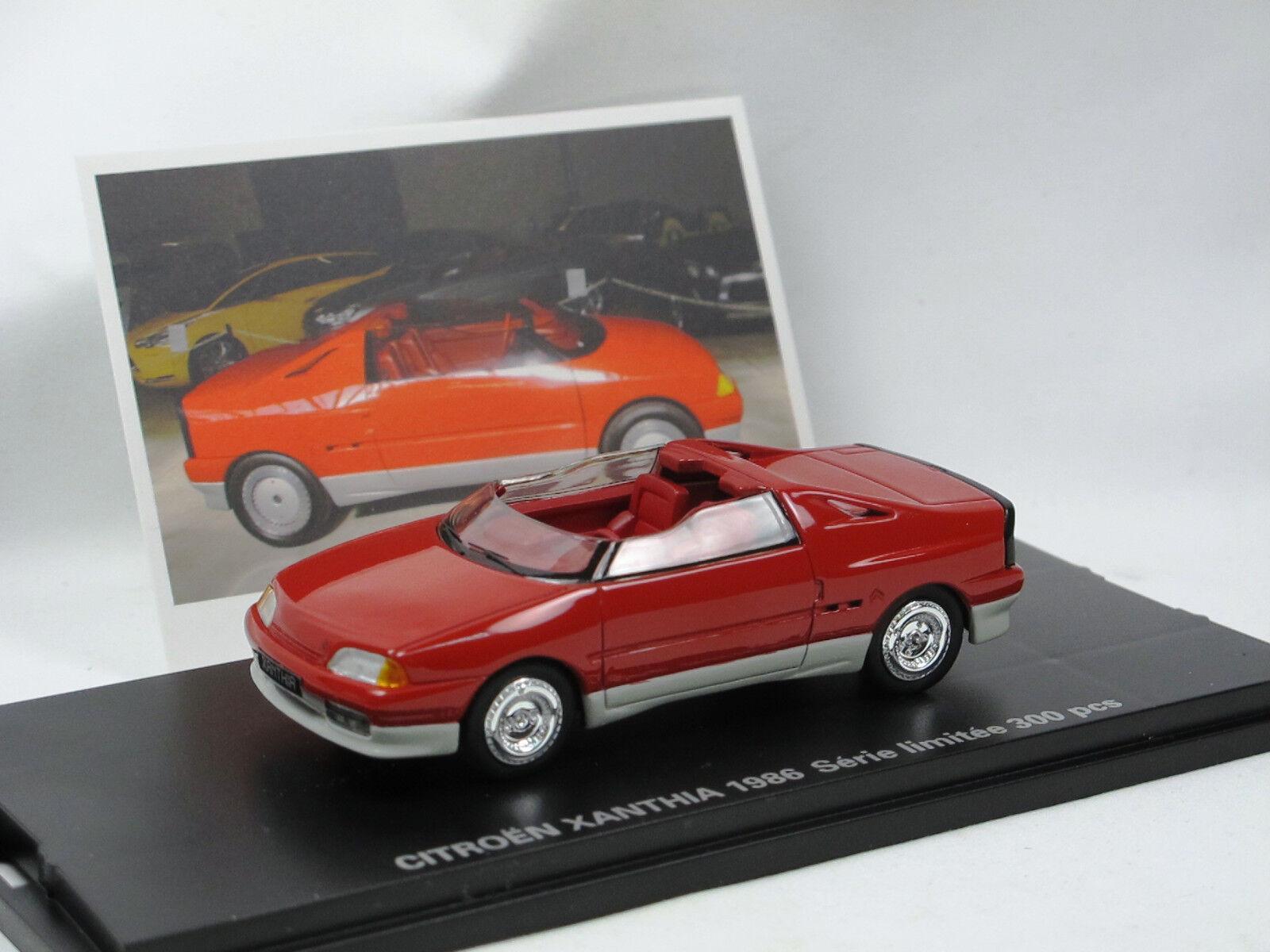 precios ultra bajos Franstyle 006 by momaco-citroen Xanthia roadster concept Coche 1986 1986 1986 1 43 nuevo  ganancia cero