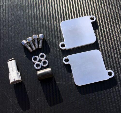 Suzuki Hayabusa BKing PAIR Blanking Plates Eliminator Block Off SMOG GSX1300R