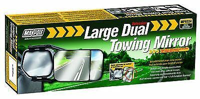 EU APPROVED LARGE DUAL TOWING MIRROR GLASS WING MIRROR EXTENSION for CARAVAN