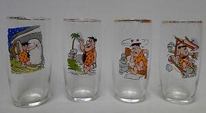 sixties-set-4-glasses-Flinstones-Hanna-Barbera