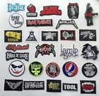 DIY Death Metal Rock Goth Punk Music Band Embroidered Sew Iron On Patch Badge