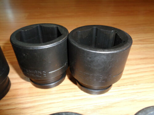 """PICK SIZE />/> USA Made CRAFTSMAN INDUSTRIAL 3//4/"""" Drive SAE INCH IMPACT SOCKET />"""