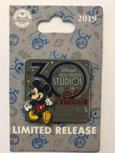 Walt Disney World WDW 2019 Mickey Hollywood Studios 30 Year Anniversary LR Pin