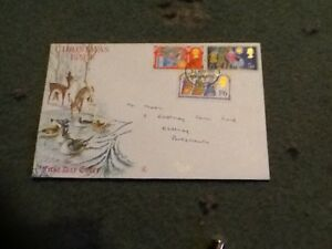 GB-Stamps-First-Day-Cover-Christmas-issue-1969