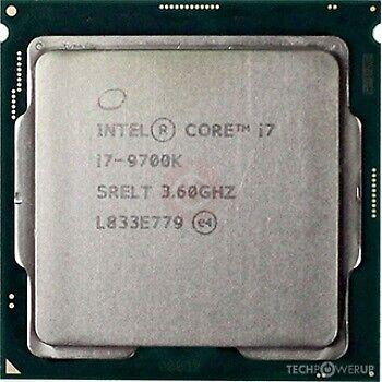 Processor, Intel, i7 9700K