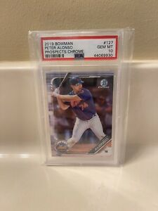 2019 Bowman Chrome RC Mets PETE ALONSO Rookie Baseball Card PSA 10 GEM MINT