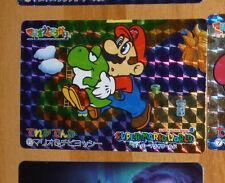 SUPER MARIO WORLD BANPRESTO CARDDASS CARD PRISM CARTE 5 NITENDO JAPAN 1993 **
