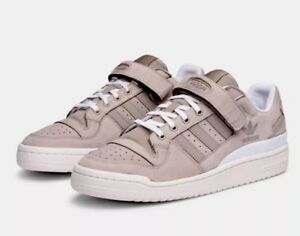 Details about Adidas Forum LO Men's Low Top Running Leather Sneakers Shoes BY3650 Gray Size 8