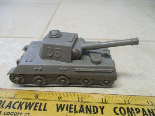 VTG Marx Battleground Desert Fox German Army Men Dark Gray German Tank 351 54mm