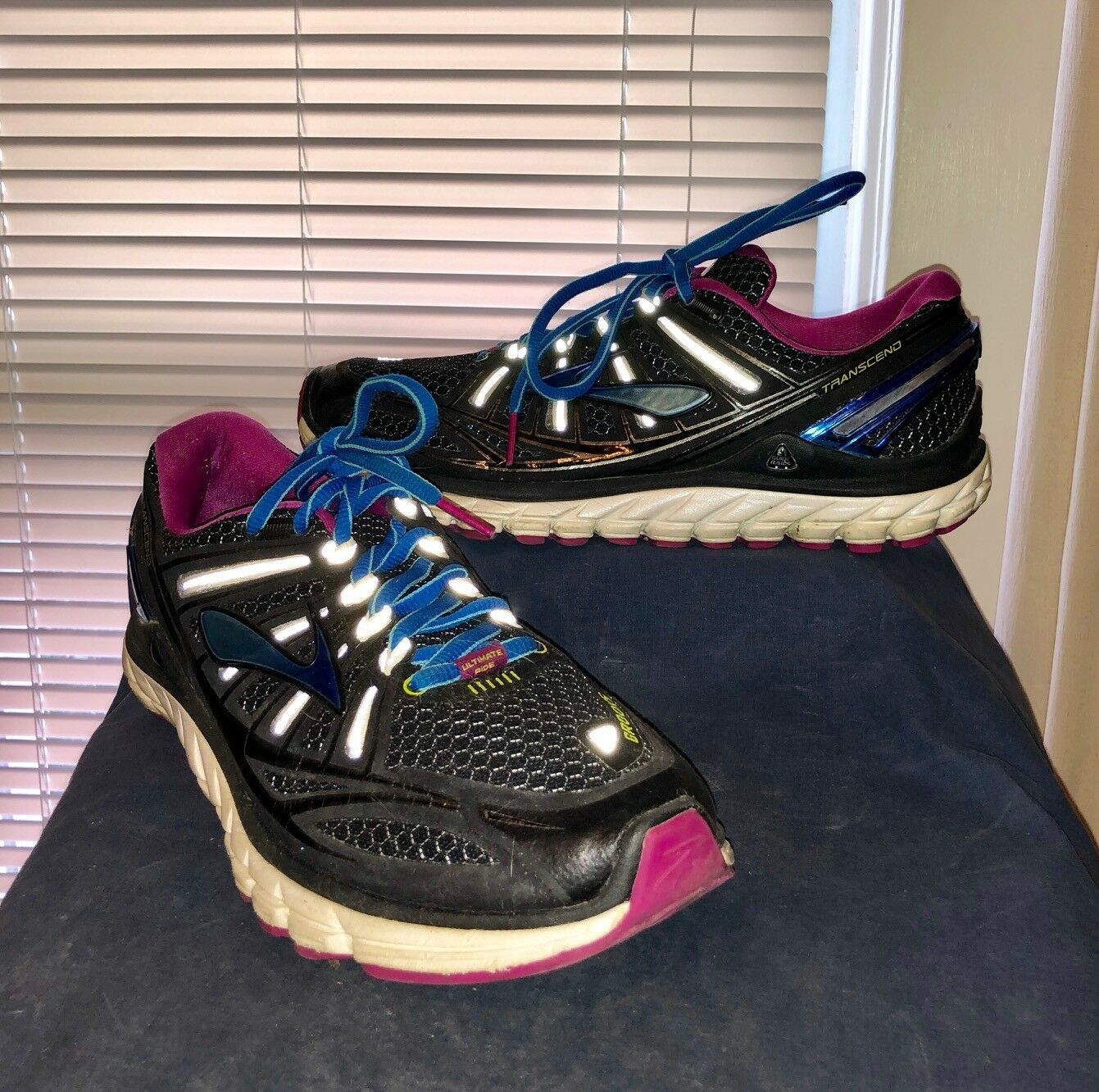 Brooks Transcend Ultimate Ride Women's Running shoes Size US 9.5