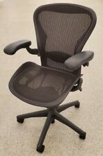 Herman Miller Aeron Office Chair Graphite Size B Slightly Used