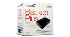 "4 TB Seagate Backup Plus USB 3.0 & 2.0 Hard Disk Drive 3.5"" STDT4000300"