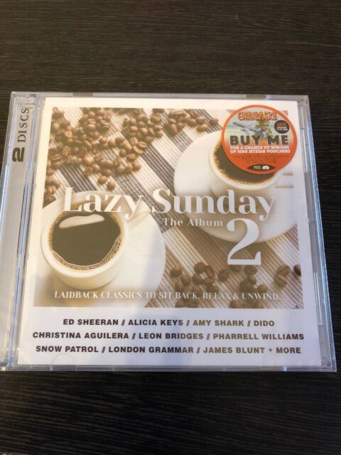 Lazy Sunday The Album 2 Ed Sheeran Alicia Keys Amy Shark Dido Christina Aguilera